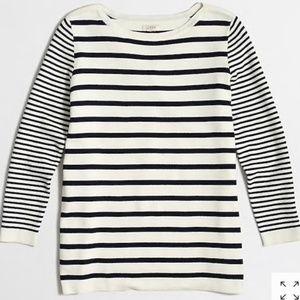 J Crew Factory Mixed Stripe Sweater
